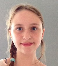 Schulsiegerin Julia, 6d
