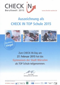 Urkunde Check-In 2015_Bild